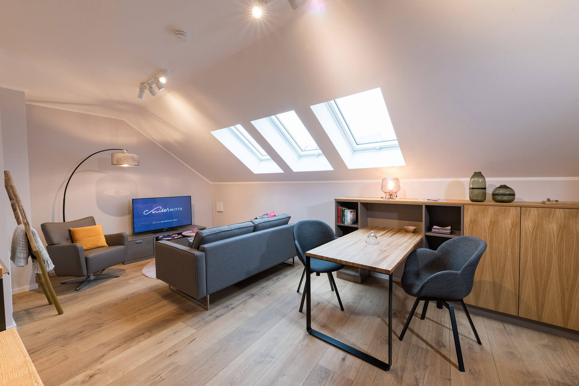 Dachwohnung – Pension Eisenach