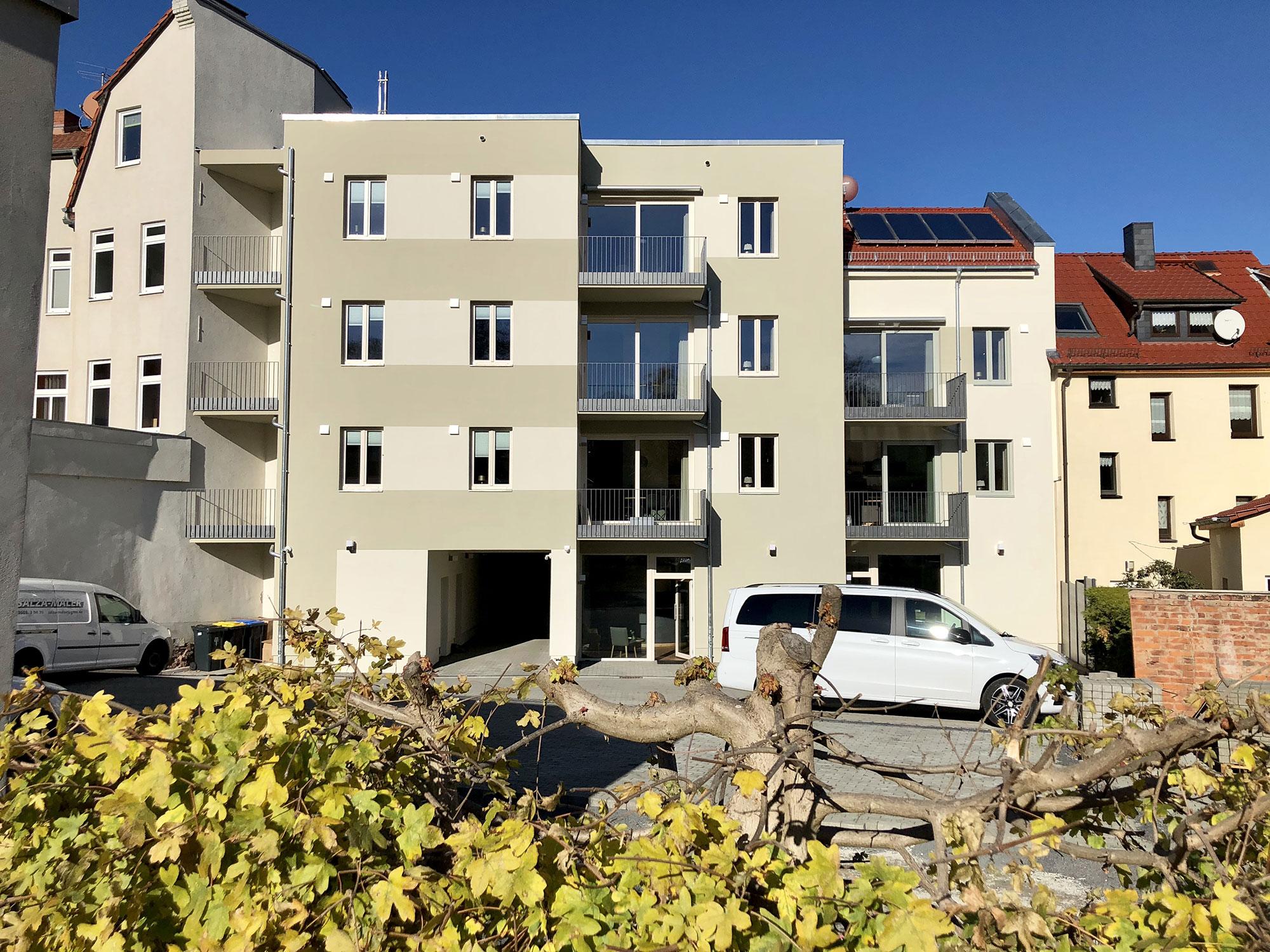 Ferienwohnung Eisenach - Suites Mitte - Innenhof