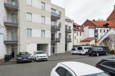 Pension Eisenach mit Parkplatz