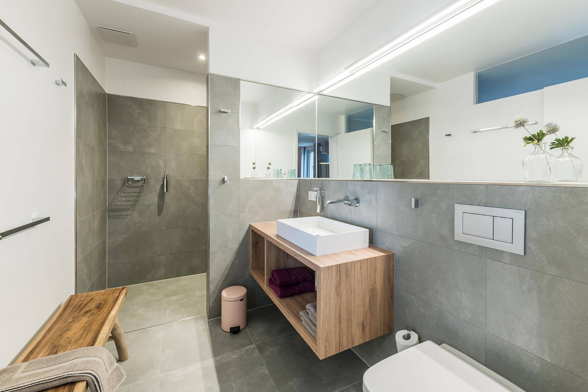komfortables Badezimmer in Ihrer Pension Eisenach