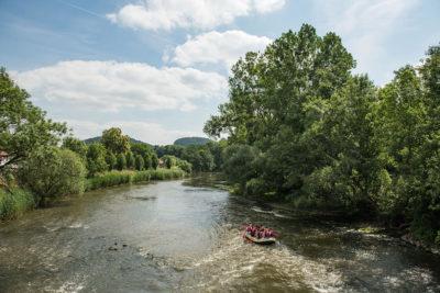 Werra – zwischen Thüringer Wald und Hainich