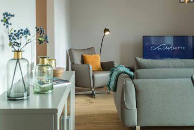 Ausstattung Apartments im Apart-Hotel Suites MITTE