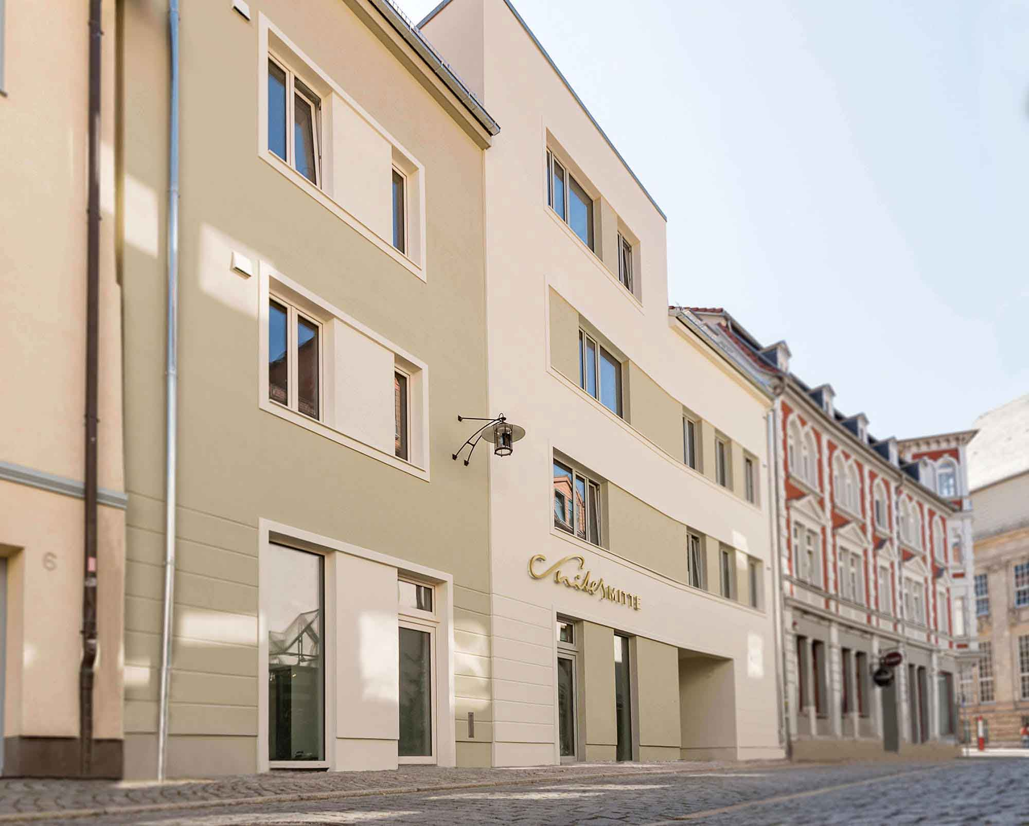 Pension Eisenach - Suites Mitte - Außenansicht