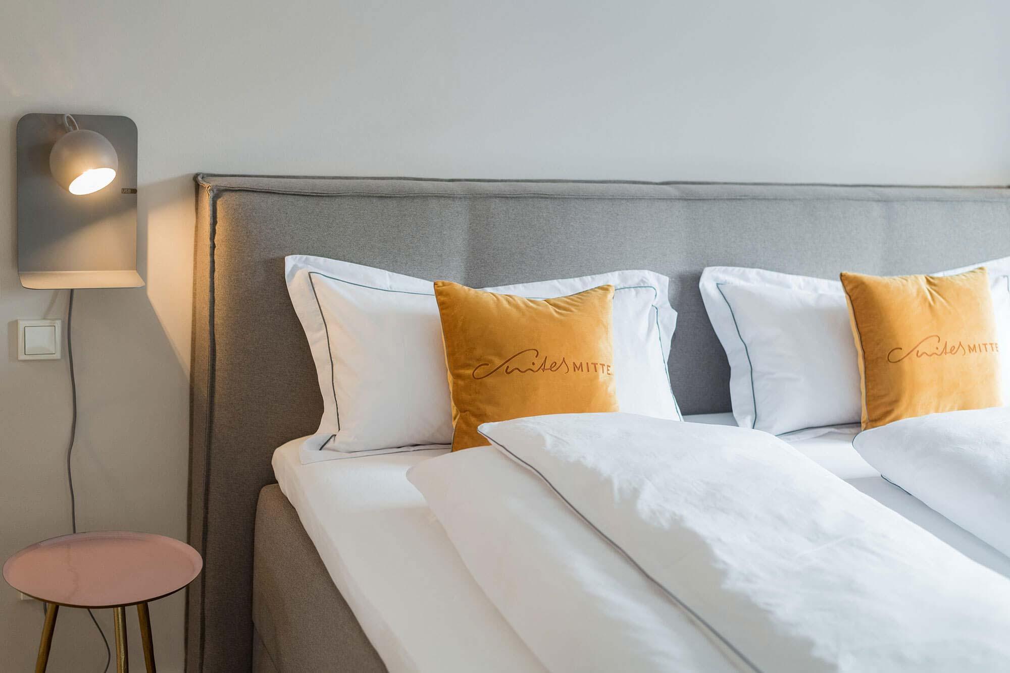 Ferienwohnung Eisenach - Suites Mitte - Bett