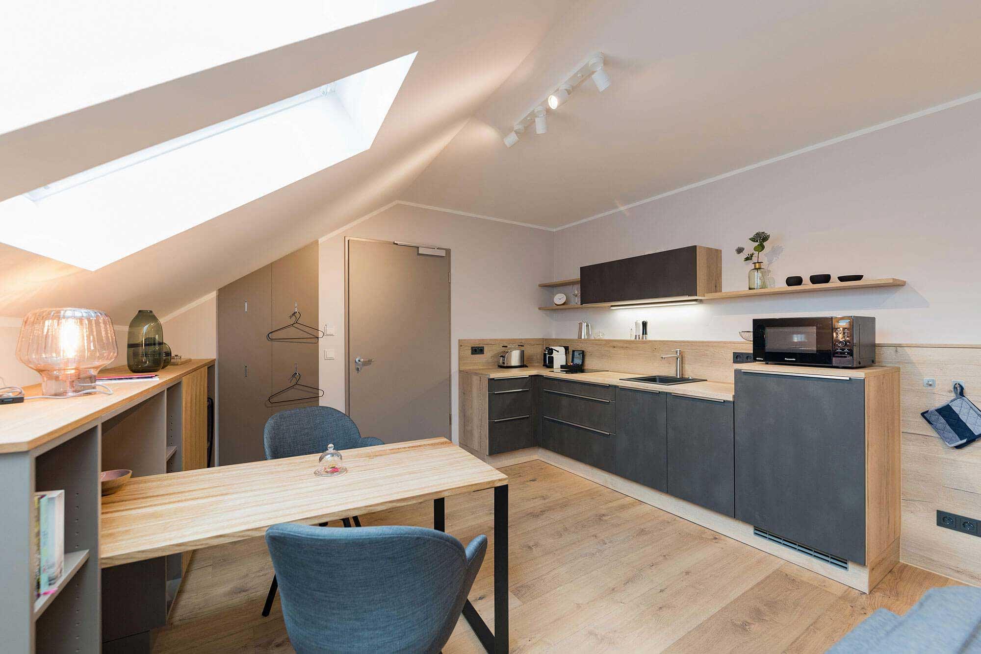Pension Eisenach - Suites Mitte - Küche