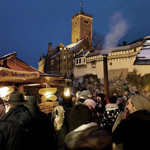 Weihnachtsmarkt auf der Wartburg – Veranstaltungen