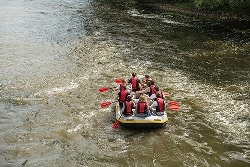 Bootstour Werra – Kanu und Schlauchboot
